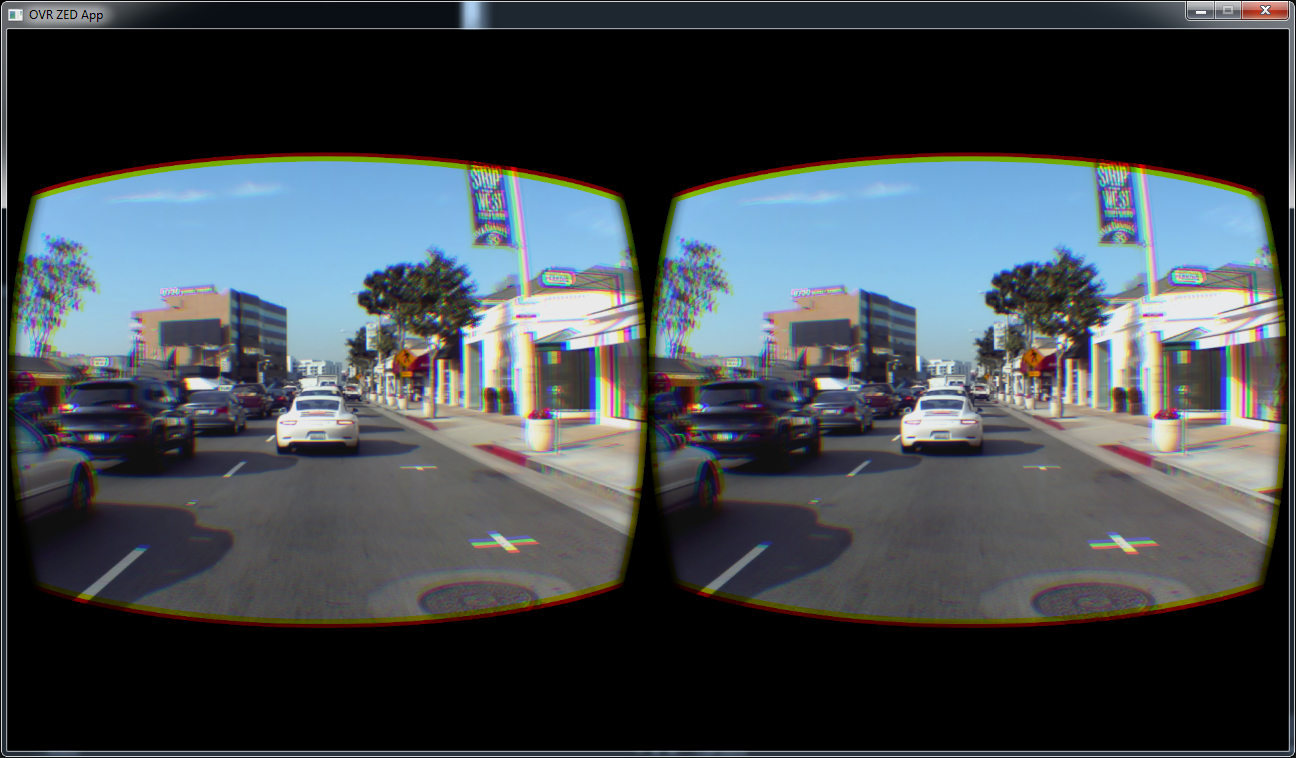 Stereo camera — Oculus
